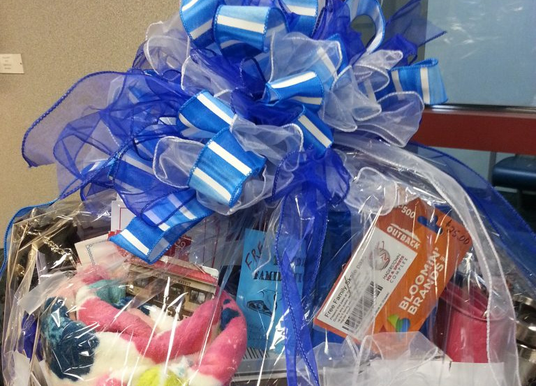 2018 Colon Cancer Awareness Basket Raffle