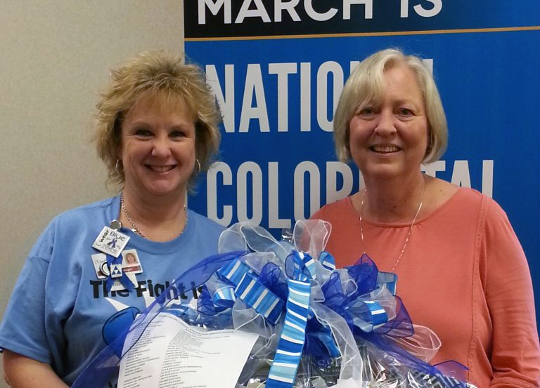 2018 Colon Cancer Awareness Basket Winners