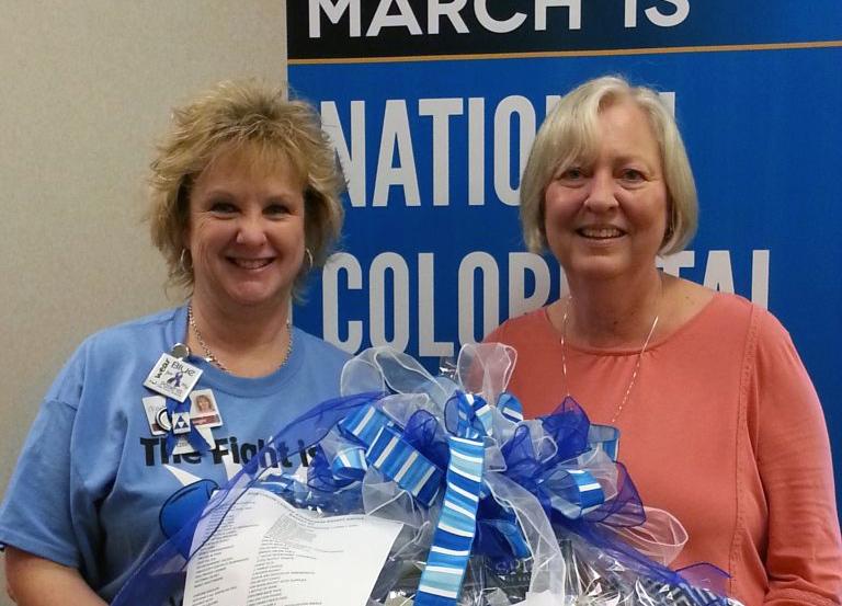 2018 Colon Cancer Awareness Basket Winners